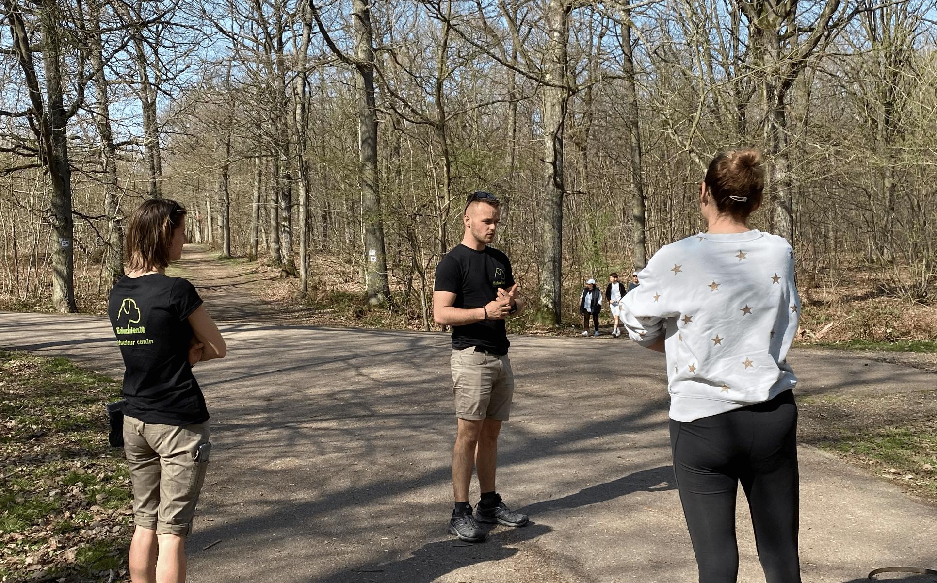Cours d'éducation à la forêt de Plaisir